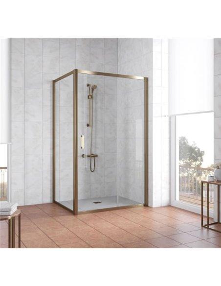 Vegas Glass dušas stūris ZP+ZPV 120*80 05 01 - 2