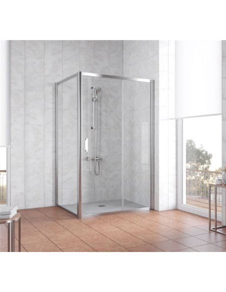 Vegas Glass dušas stūris ZP+ZPV 120*90 08 01 - 2