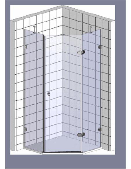 GuteWetter dušas stūris Lux Festt GK-001 правый - 10