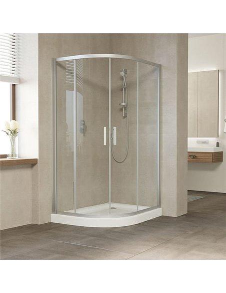 Vegas Glass dušas stūris ZS-F 120*80 07 01 - 2