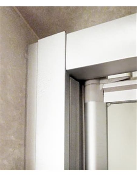 GuteWetter dušas stūris Practic Square GK-401 kreisā - 2