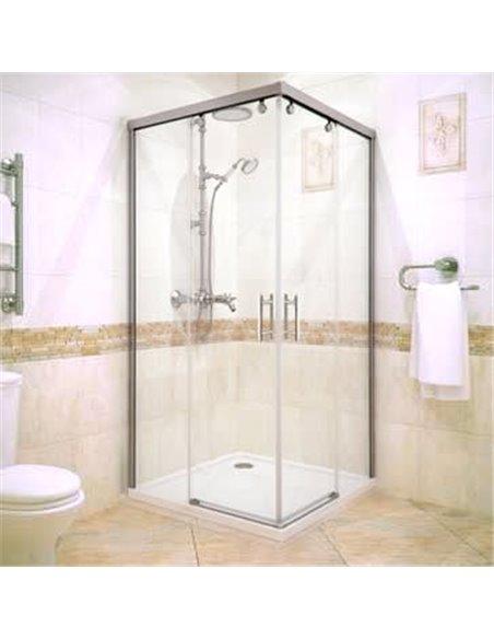 GuteWetter dušas stūris Slide Square GK-864 - 1