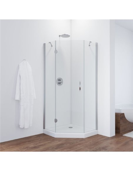 Vegas Glass dušas stūris AFA-Pen 90 08 01 L - 2