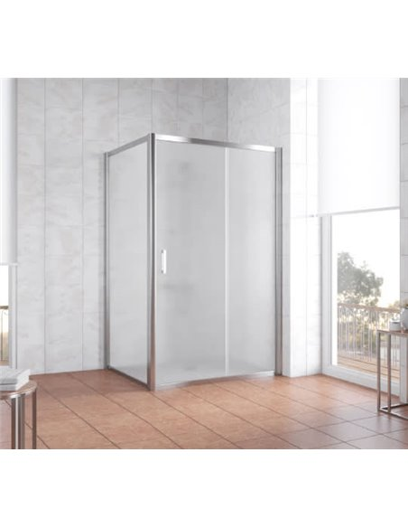 Vegas Glass dušas stūris ZP+ZPV 110*100 08 10 - 2