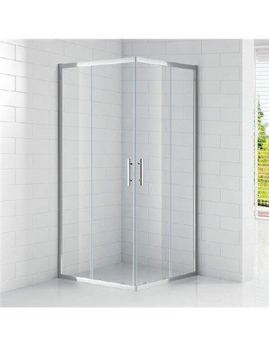 Cezares dušas stūris Eco A2 80 C Cr - 1