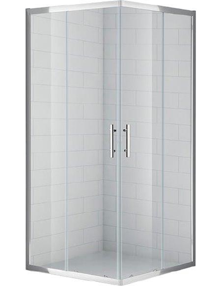 Cezares dušas stūris Eco A2 80 C Cr - 5
