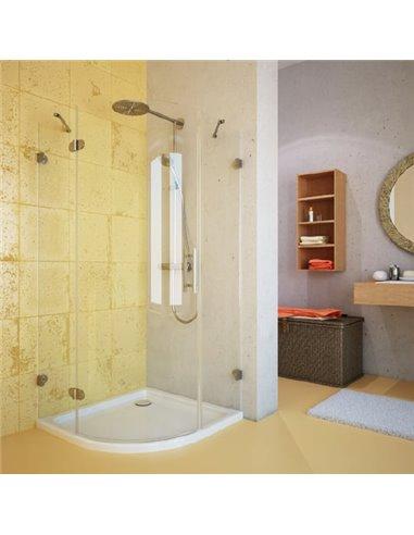 GuteWetter dušas stūris Lux Meliori GK-001 левый - 1