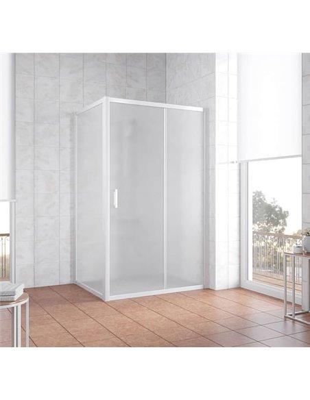 Vegas Glass dušas stūris ZP+ZPV 130*70 01 10 - 2