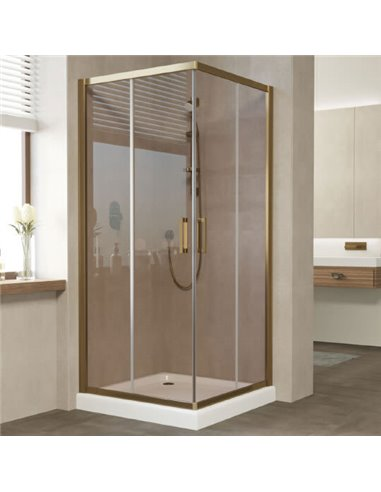 Vegas Glass dušas stūris ZA 80 05 05 - 1