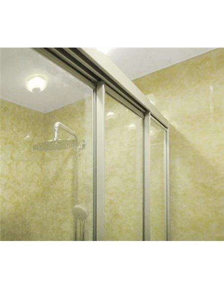 GuteWetter dušas stūris Practic Rectan GK-403 labā - 4