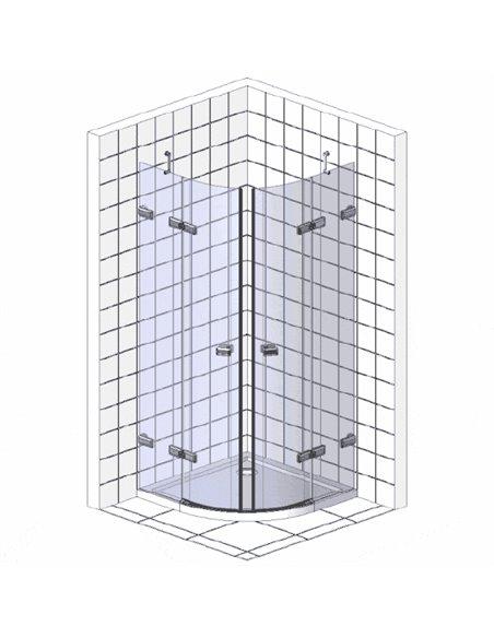 Radaway dušas stūris EOS II PDD - 5
