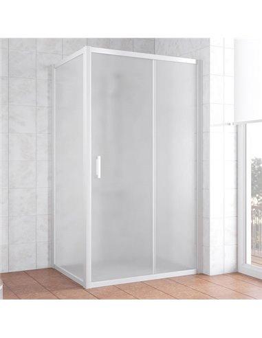 Vegas Glass dušas stūris ZP+ZPV 110*80 01 10 - 1