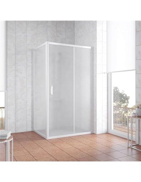 Vegas Glass dušas stūris ZP+ZPV 110*80 01 10 - 2