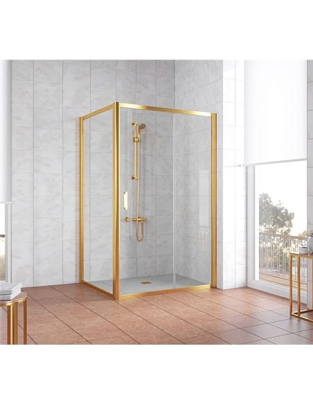 Vegas Glass dušas stūris ZP+ZPV 120*100 09 01 - 2