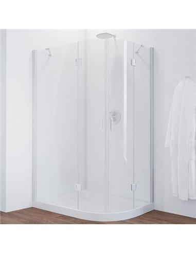 Vegas Glass dušas stūris AFS-F 120*110 01 01 L - 1
