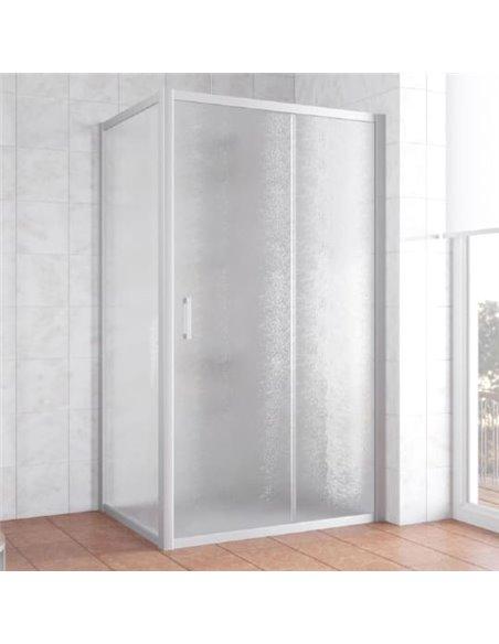 Vegas Glass dušas stūris ZP+ZPV 100*80 07 02 - 1