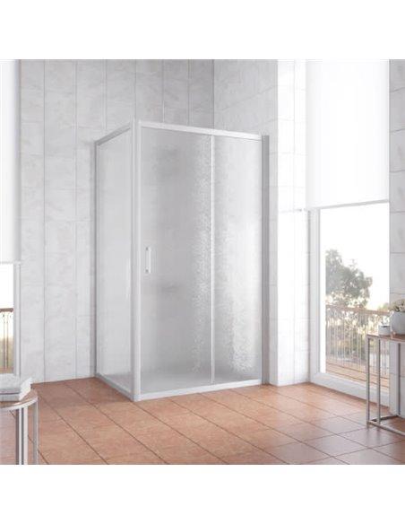 Vegas Glass dušas stūris ZP+ZPV 100*80 07 02 - 2
