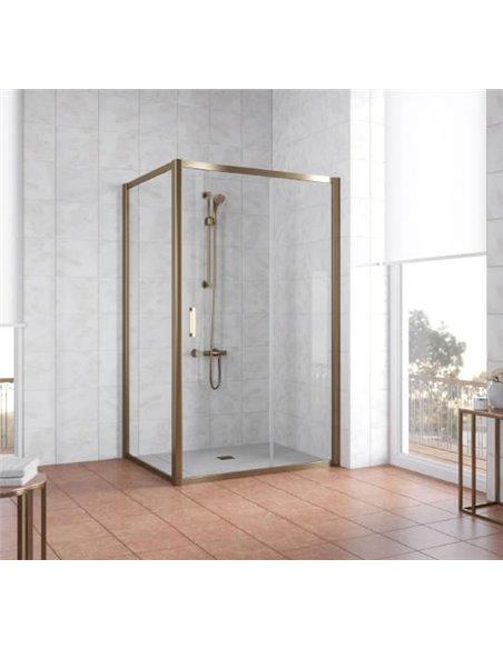Vegas Glass dušas stūris ZP+ZPV 120*90 05 01 - 2