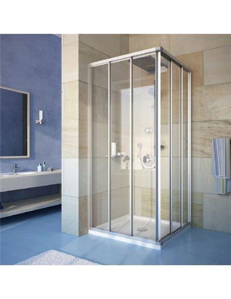 GuteWetter dušas stūris Practic Square GK-433 - 1