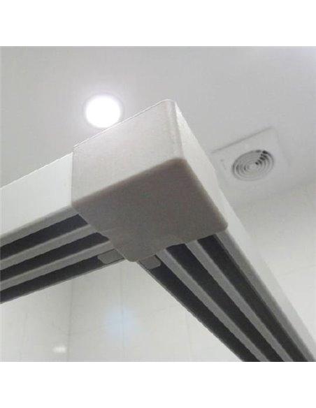 GuteWetter dušas stūris Practic Square GK-433 - 5