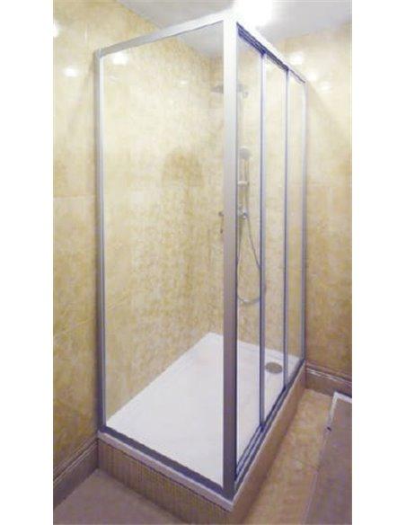 GuteWetter dušas stūris Practic Rectan GK-403 labā - 2