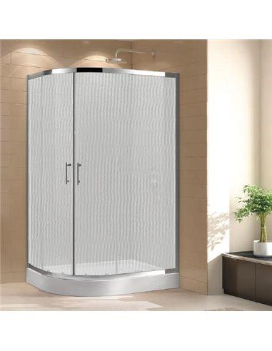 Cezares dušas stūris Eco RH 2 120/90 P Cr - 1