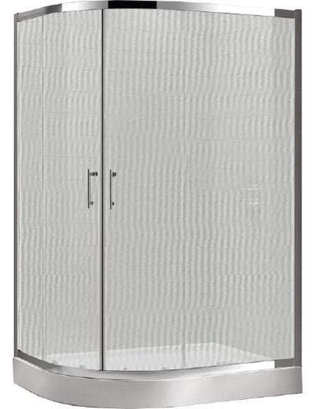 Cezares dušas stūris Eco RH 2 120/90 P Cr - 3