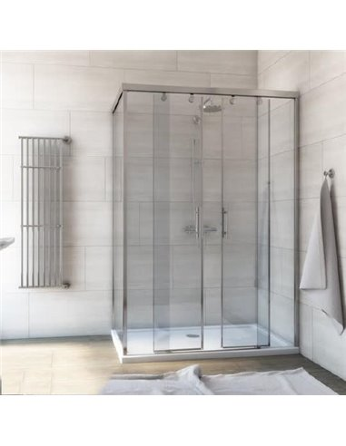 GuteWetter dušas stūris Slide Rectan GK-865 labā - 1