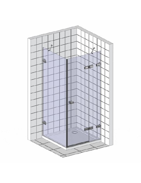 Ravak dušas stūris CRV2-110+CPS - 3