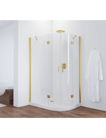 Vegas Glass dušas stūris AFS-F 120*110 09 01 L - 2