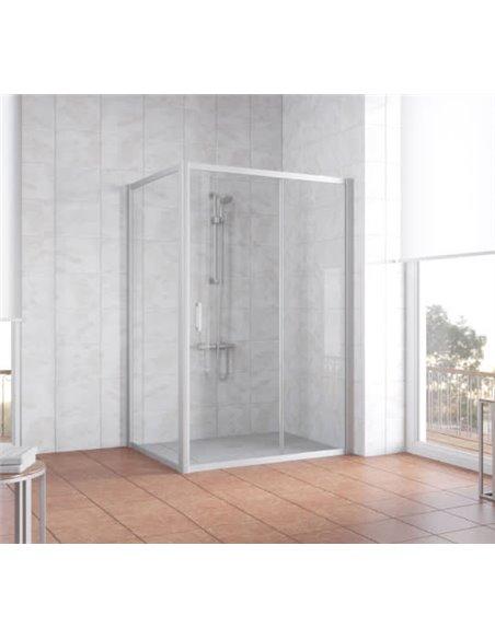 Vegas Glass dušas stūris ZP+ZPV 130*100 07 01 - 2