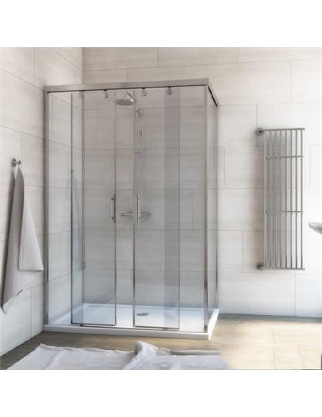 GuteWetter dušas stūris Slide Rectan GK-865 kreisā - 1