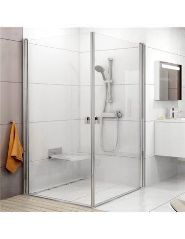 Ravak dušas stūris CRV1-100+CRV1 - 1