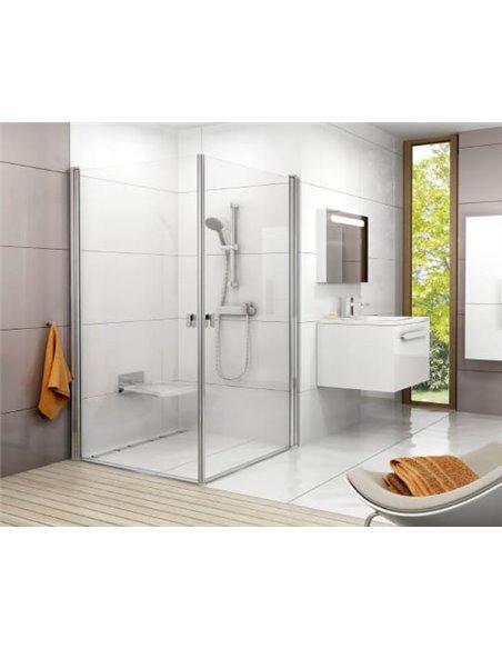 Ravak dušas stūris CRV1-100+CRV1 - 2