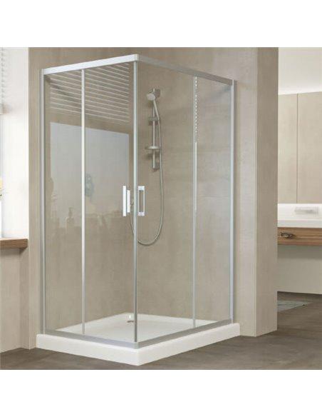 Vegas Glass dušas stūris ZA-F 120*90 07 01 - 1