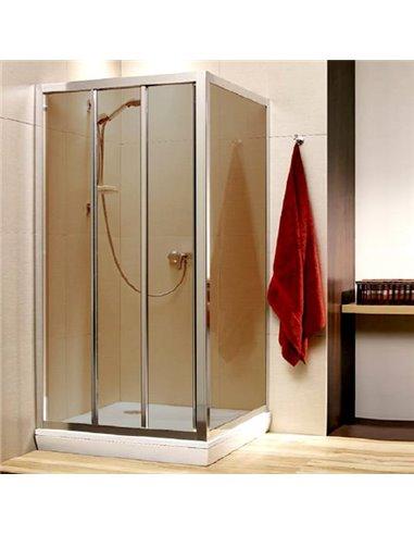 Radaway dušas stūris Treviso DW+S - 1