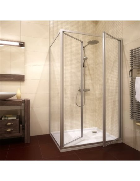 GuteWetter dušas stūris Practic Rectan GK-402 labā - 1
