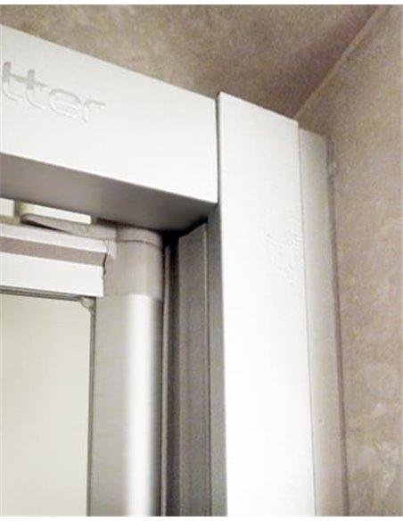 GuteWetter dušas stūris Practic Rectan GK-402 labā - 2