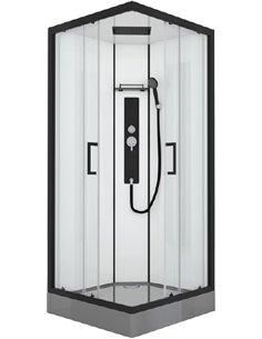 Душевая кабина Black&White Galaxy G8002 900х900х2150