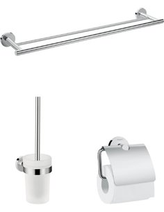 Hansgrohe Set Logis Universal Accessories (3 in 1) - 1