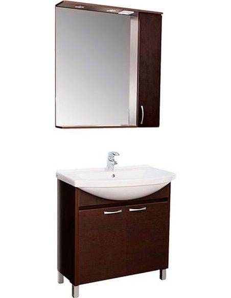 Aquanet spoguļu skapītis Донна 80 - 3