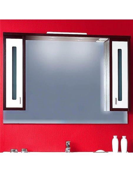Бриклаер spoguļu skapītis Бали 120 - 1