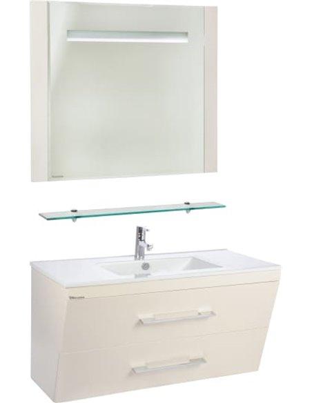Bellezza spogulis Берта pie sienas 90 - 2