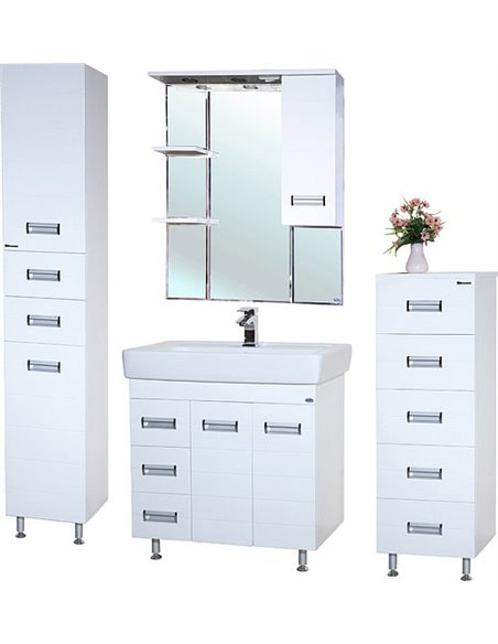 Bellezza spoguļu skapītis Сиена 80 - 2