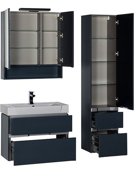 Aquanet spoguļu skapītis Виго 80 - 8