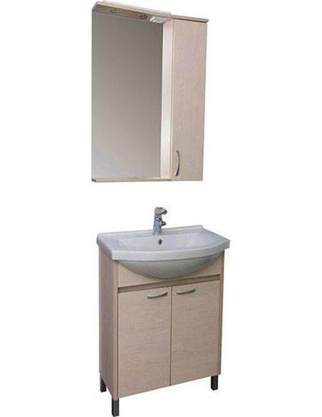 Aquanet spoguļu skapītis Донна 60 - 5