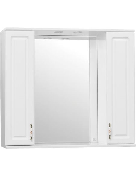 Style Line spoguļu skapītis Олеандр-2 90/С - 4