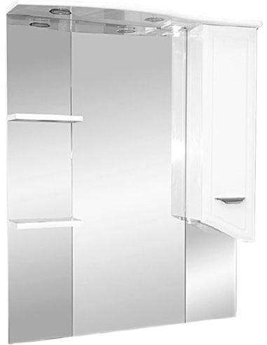 Misty spoguļu skapītis Дрея 85 - 1