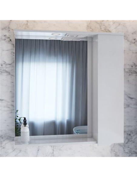 Sanstar spoguļu skapītis Bianco 80 П - 1