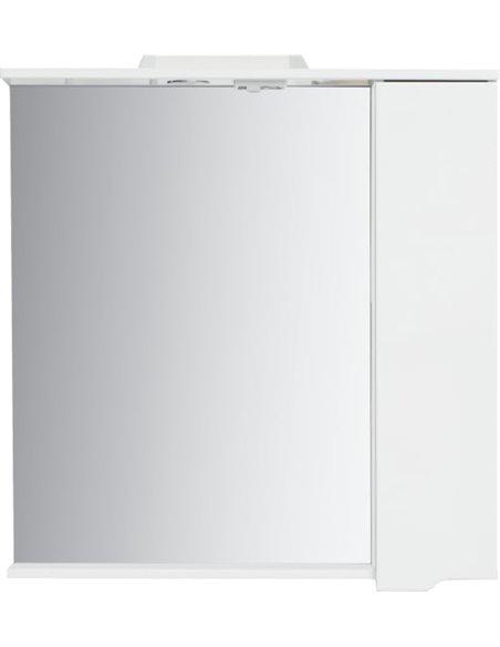 Sanstar spoguļu skapītis Bianco 80 П - 4